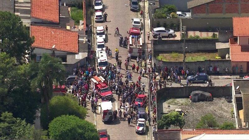 Tiroteo en escuela de Brasil deja al menos 10 muertos