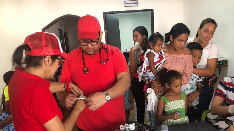 Unisimón participa en brigada de salud renal para más de 5.000 indígenas en Colombia