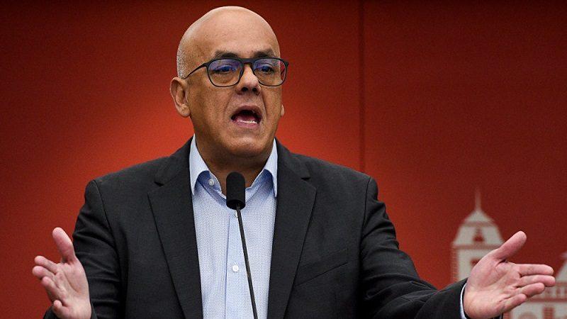 ministro de Comunicación de Venezuela, Jorge Rodríguez