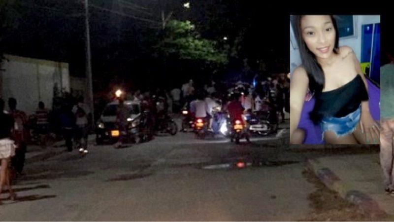 A tiros asesinan a una mujer, su hija de 1 año resultó herida, en el barrio Los Olivos
