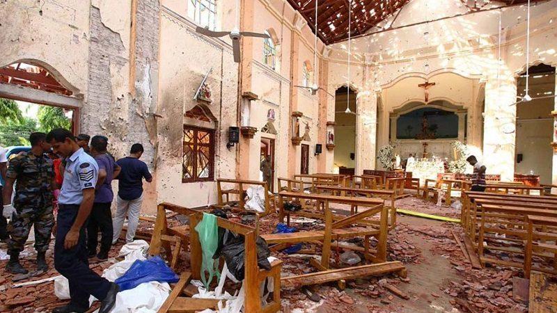 Al menos 359 muertos tras explosiones en varias iglesias y hoteles en Sri Lanka