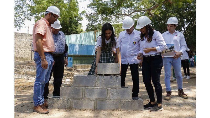 Arrancan construcciones de Sena en Luruaco y Juan de Acosta