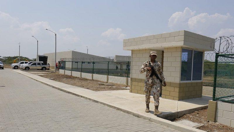 Así quedó la nueva base militar construida en Suan, Atlántico