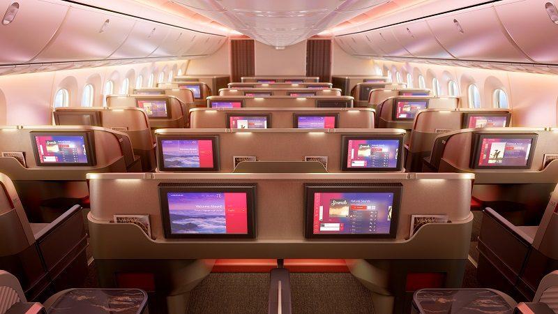 Aviones de Latam Airlines estrenan modernas cabinas
