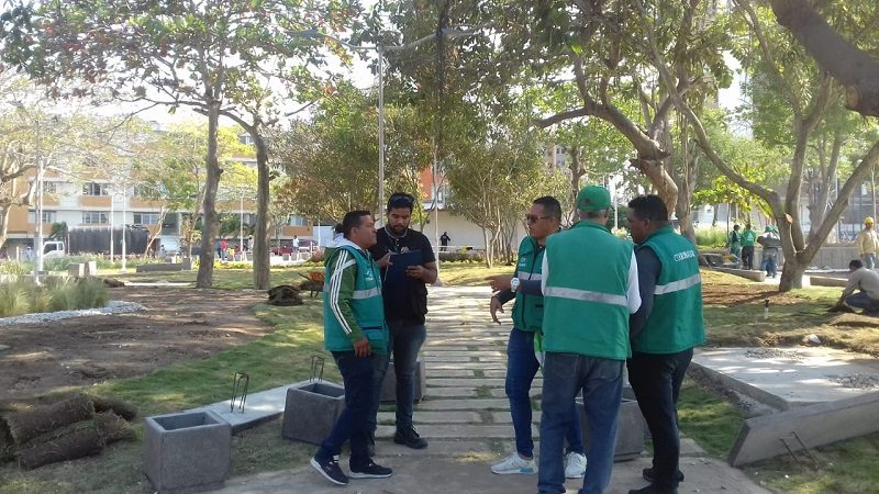 Barranquilla Verde sensibiliza a 'Guardaparques' sobre manejo y control del caracol africano