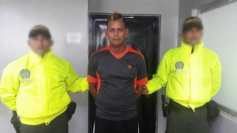 Capturan a 'El Jhonatan', por el asesinato de un joven en Villas de San Pablo