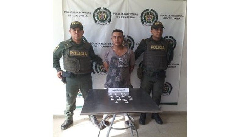 Capturan a hombre que vendía cocaína a domicilio en Sabanalarga