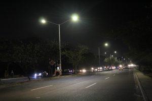 Con iluminación y letrero de identidad, Malambo conmemora 107 años de municipalidad 1