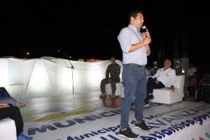 Con iluminación y letrero de identidad, Malambo conmemora 107 años de municipalidad 2