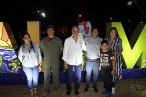 Con iluminación y letrero de identidad, Malambo conmemora 107 años de municipalidad 3