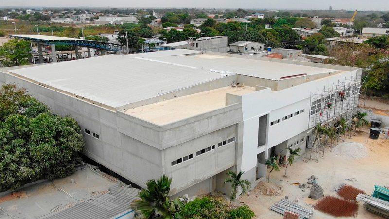Construcción de nuevo hospital de Malambo registra avance del 75%