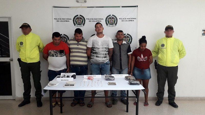 Desmantelan cinco caletas de droga en Sabanagrande, Atlántico