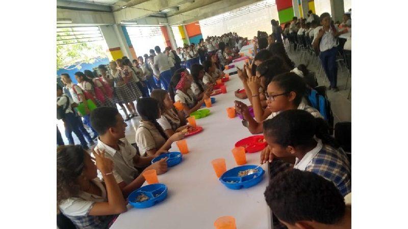 En Soledad se abrió el mejor y más grande comedor escolar del país