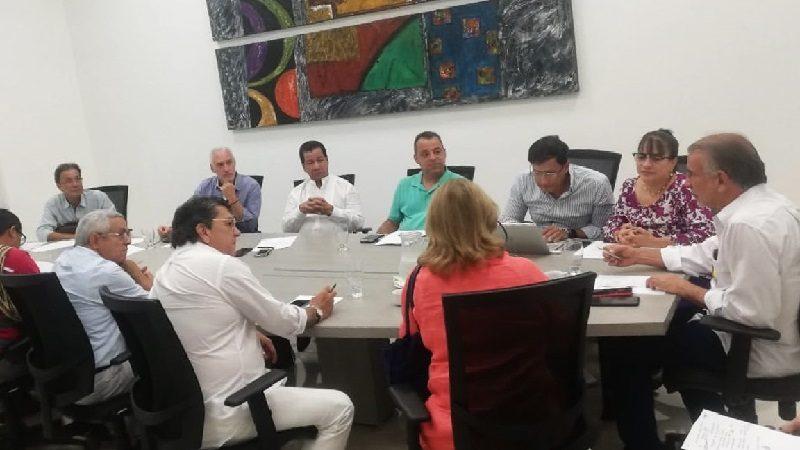 Gobernación y CRA acuerdan presentar ante Ocad Caribe proyecto alcantarillado de Palmar de Varela