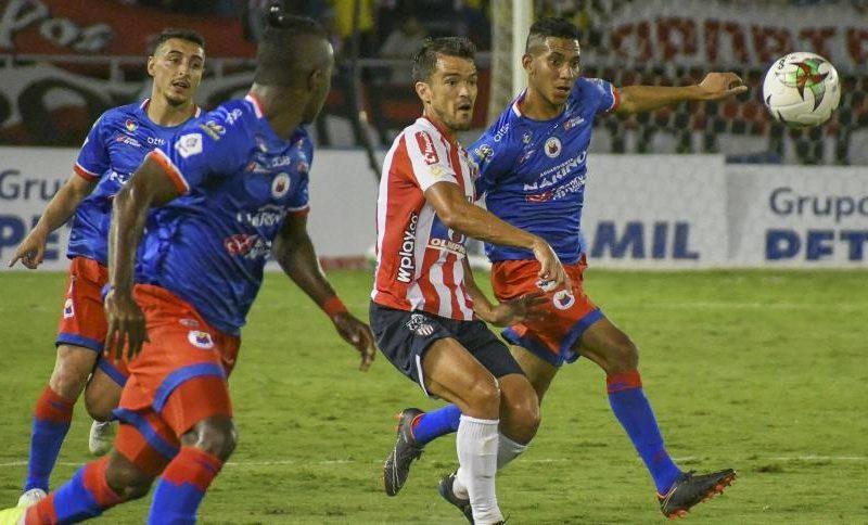 Junior 0-0 Pasto, en el Metropolitano