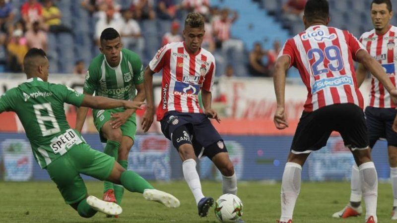 Junior empató 0-0 con Nacional y sigue segundo en la Liga