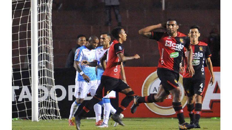 Junior perdió 0-1 ante Melgar de Perú y queda al borde de la eliminación en la Libertadores
