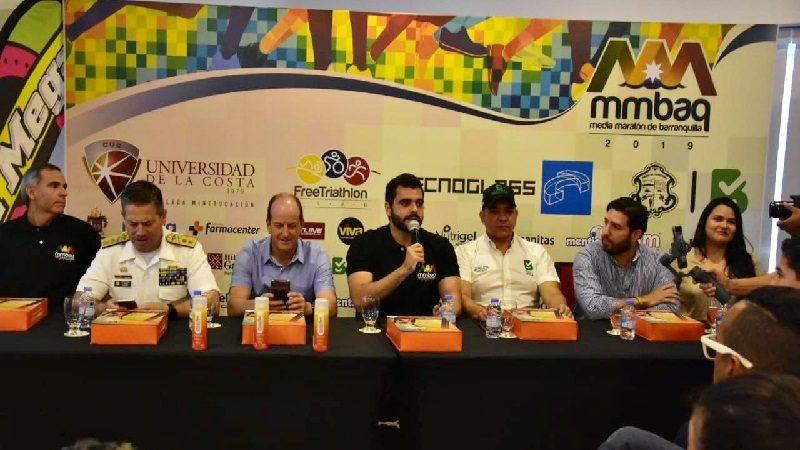 Lanzan oficialmente la Media Maratón de Barranquilla 2019