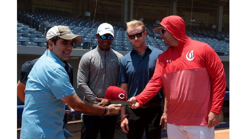 Los Rojos de Cincinnati realizan campamento en el estadio Édgar Rentería de Barranquilla