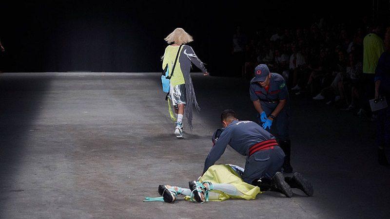 Modelo murió en plena pasarela de la Semana de la Moda de Sao Paulo