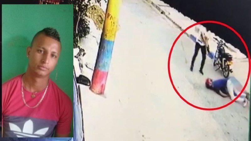 Momento en que agente del CTI abatió a presunto atracador en el barrio Los Girasoles