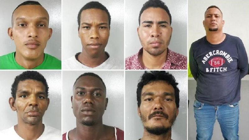 Policía captura a ocho señalados atracadores de buses en Barranquilla