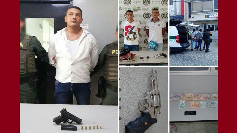Policía reporta 55 capturas durante el fin de semana en Barranquilla