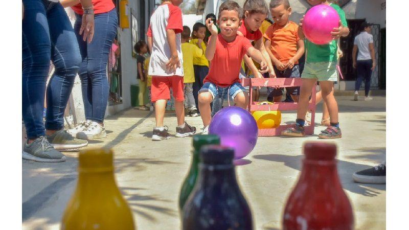 Primera infancia de Barranquilla celebró el Día Mundial de la Actividad Física