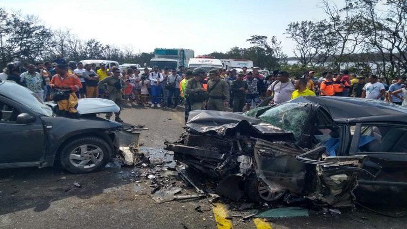 Semana Santa dejó 23 personas fallecidas en carreteras de la Región Caribe
