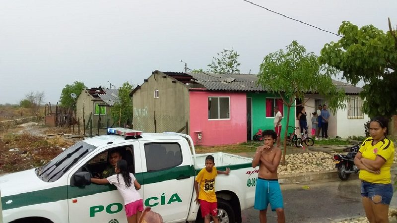 Vendaval en Candelaria destechó decenas de viviendas y dejó sin luz a varias poblaciones