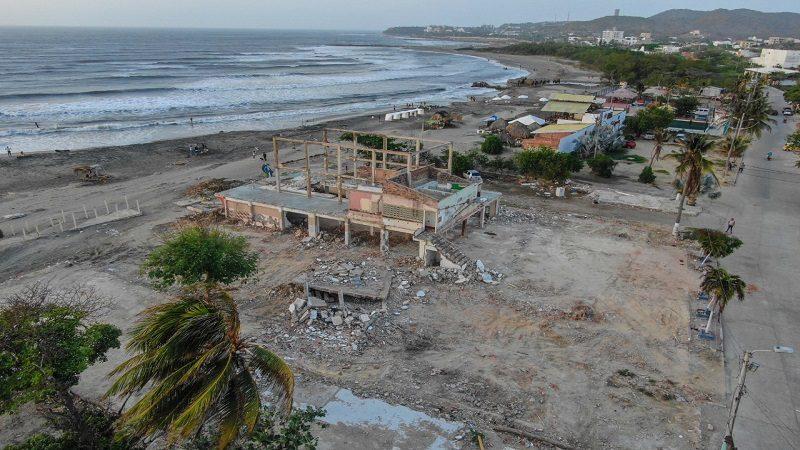 Últimas demoliciones abren paso a la gran Plaza de Puerto Colombia
