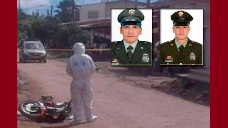 A tiros asesinan a dos policías que estaban de civil