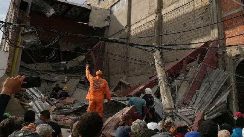 Al menos 11 heridos tras desplomarse una construcción en Fundación, Magdalena