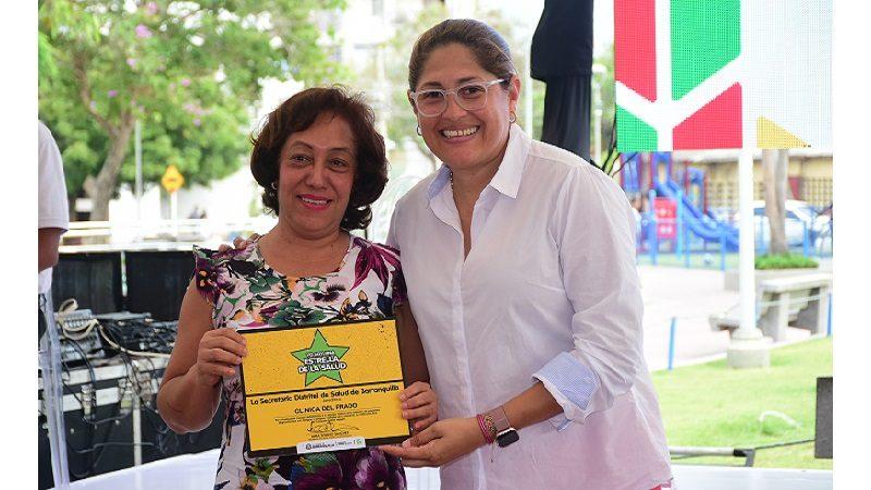 Alcaldía reconoce a clínicas por buenos protocolos en atención de pacientes con dengue