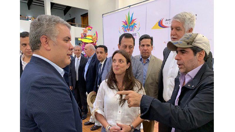 Alcalde Char asiste a Cumbre de Ciudades Capitales en Pasto