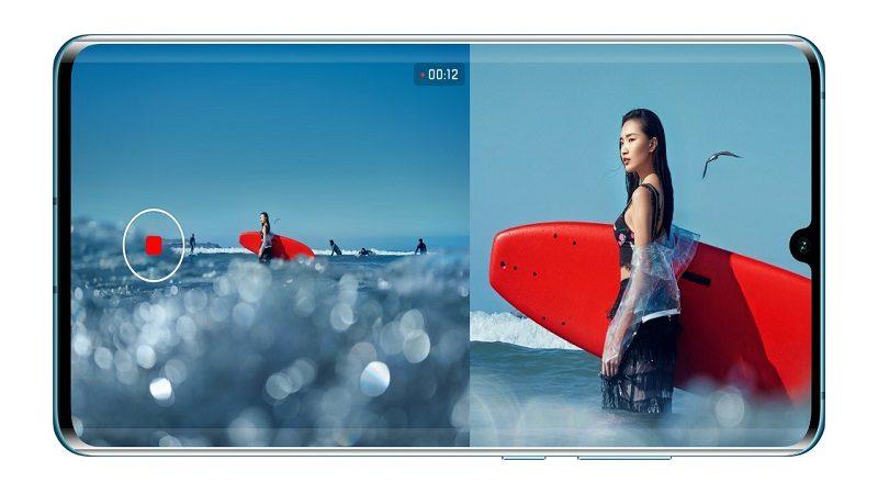 Así funciona el modo Dual-View de los HUAWEI P30 y P30 Pro