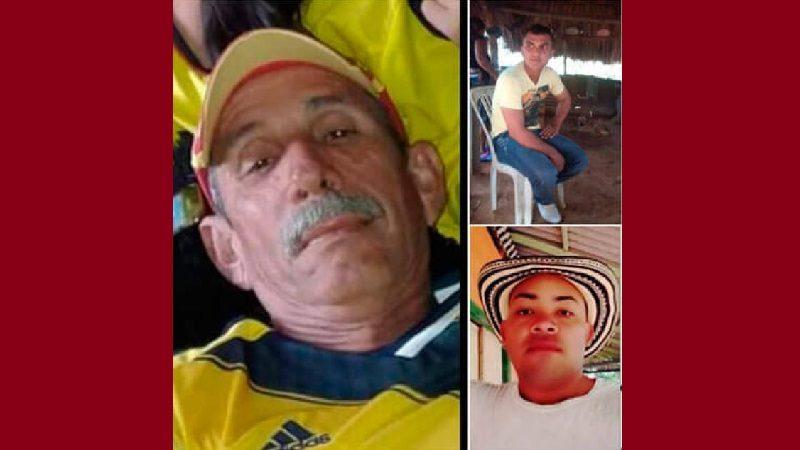 Asesinan a tres campesinos en una finca de Cáceres, Antioquia