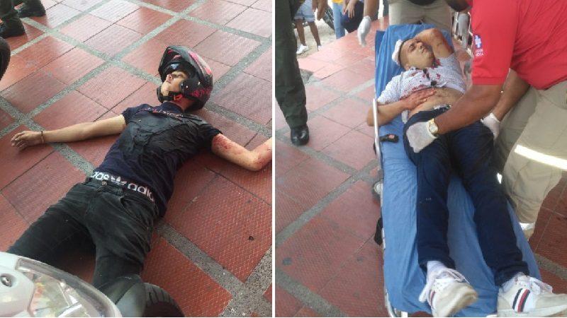 Atracaron a Policía de la Sijín y terminaron baleados