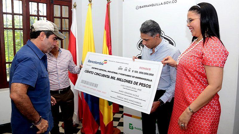 Banca privada brinda respaldo al Distrito de Barranquilla por la confianza en sus finanzas
