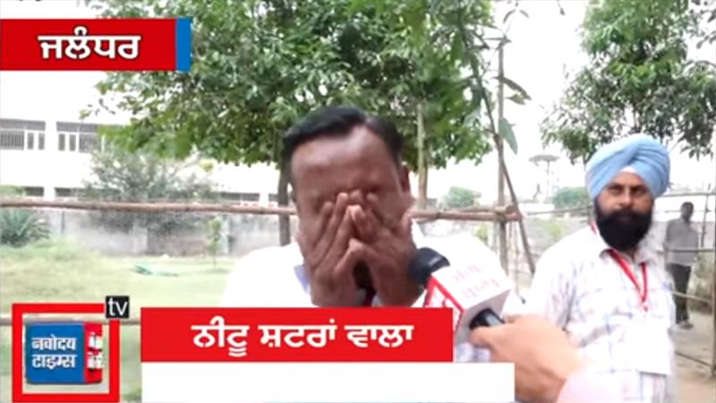 Candidato político rompió en llanto porque ni su familia votó por él