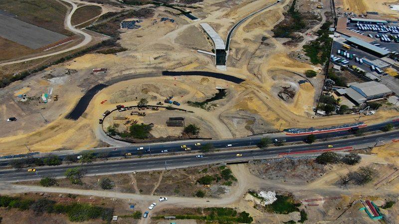 Construcción del nuevo puente La Virgencita de Soledad avanza en 60 %