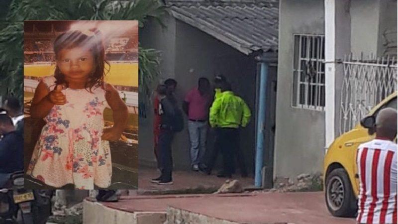 Desaparece niña de 6 años en el barrio Los Rosales de Barranquilla
