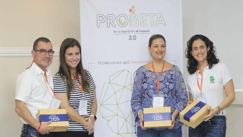 Distrito da la bienvenida a las 12 iniciativas ganadoras de Probeta 3.0