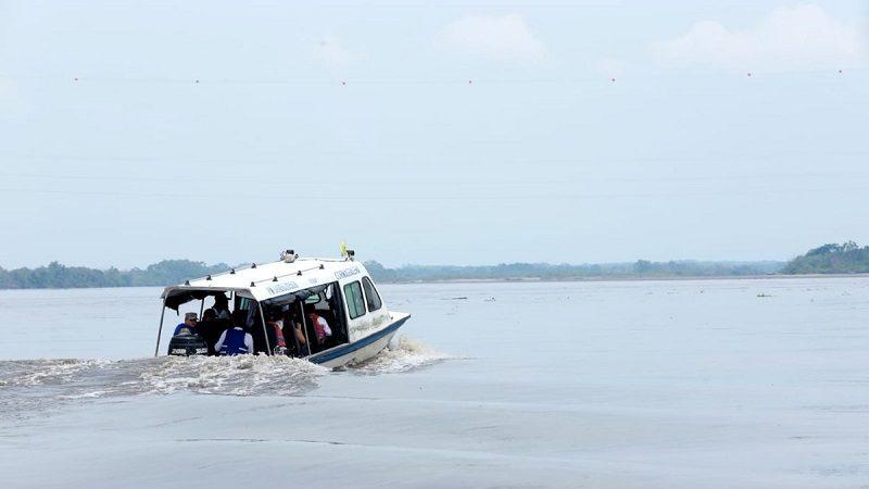 Ecopetrol y Cormagdalena sellan alianza para recuperar la navegabilidad del río Magdalena