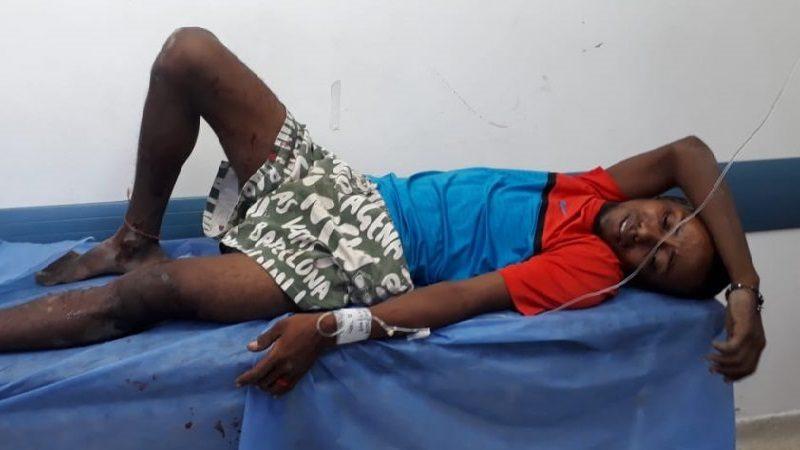 En atraco, pensionado de la Policía hiere a presunto ladrón, en Rebolo