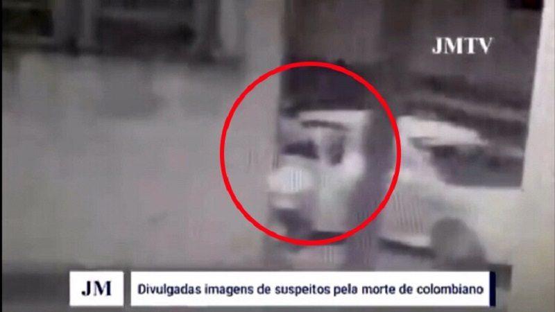 Este es el momento del asesinato del esposo de María Mónica Urbina, en Brasil