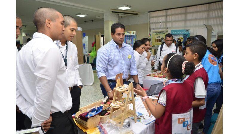 Exitosa Feria Departamental de Ciencia, Tecnología e Innovación de Ondas Atlántico, en Unisimón