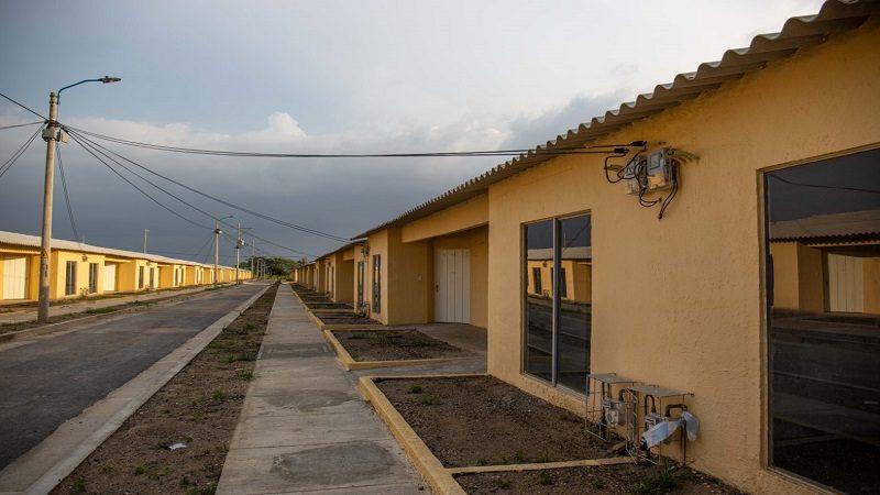 Finaliza la construcción de 300 casas gratuitas en el municipio de Repelón