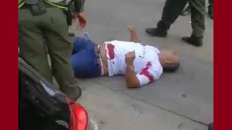 Fleteros se dieron tiros con policías en el norte de Barranquilla