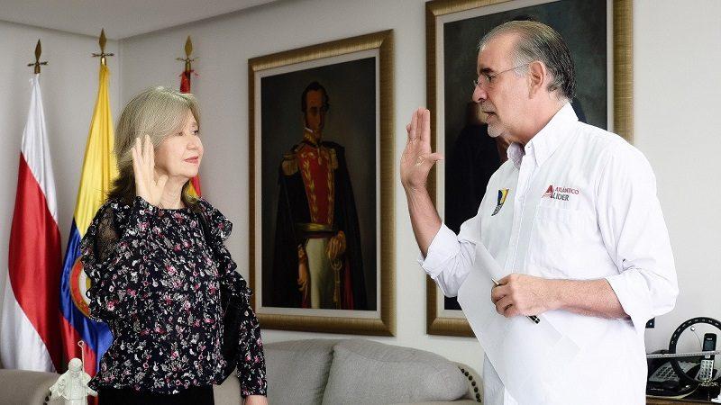 Greis Villamil Martínez, nueva magistrada de la Sala Penal del Tribunal Superior del Distrito